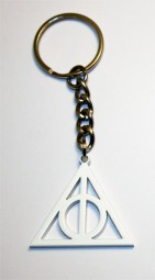 Harry potter and the deathly hallows logo keyring. Very rare!