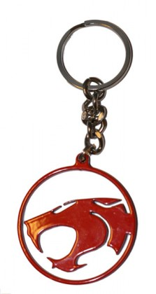 Thundercats on Thundercats Logo Metal Keyring From The 80 S Tv Series