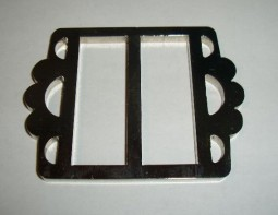 V for Vendetta belt buckle, machined high quality metal!