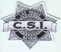 "CSI Las Vegas Badge 4"" Patch"