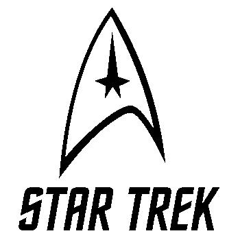 Star Trek Tos Original Logo Wall Sticker Resin Props And Rare