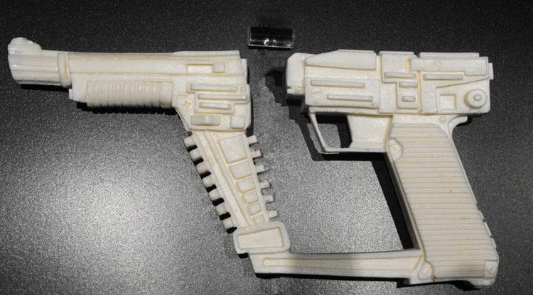 V Visitors Gun Prop Weapon Resin Props And Rare Movie