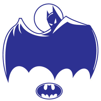 Superhero Batman Wall Art Sticker