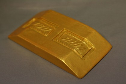 Ferengi gold-pressed brick large latinum