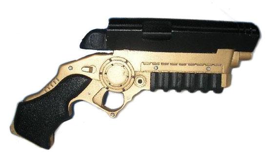 Batman begins grappling gun prop replica