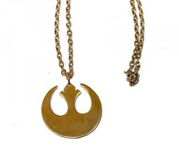 Star wars jedi rebellion logo necklace
