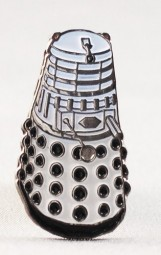 Dr Who Dalek collectable pin badge.