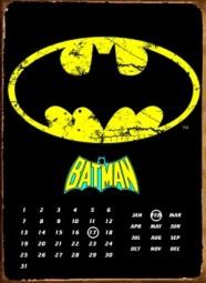 Batman Perpetual metal calender