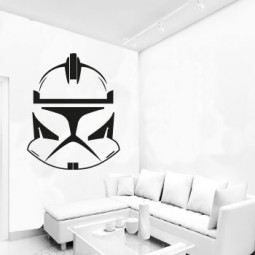 Clone trooper star wars wall sticker