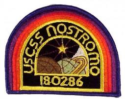 Alien / Aliens USCSS Nostromo Crew Patch RARE!