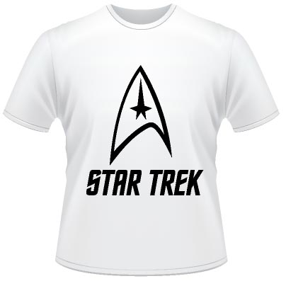 star trek original logo t shirt