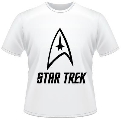 star trek original logo t shirt