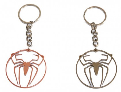 spiderman keyring
