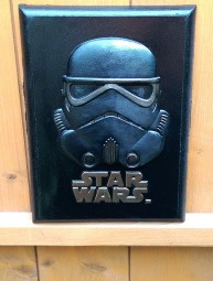 Star Wars 3D bust or plaque of stormtrooper