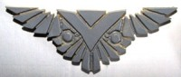 Star Trek rare Romulan emblem pin second mark