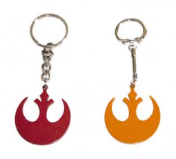 Star wars Jedi / rebel alliance rare metal keyring from the movie