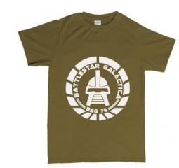 Battlestar Galactica circular CYLON design T shirt or Hoodie