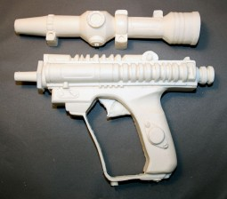 star wars biker scout gun resin weapon