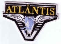 "Stargate: Atlantis Logo 4"" Patch"