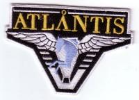"""Stargate: Atlantis Logo 4"""" Patch"""