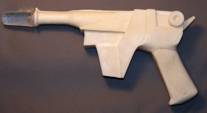 Buck rogers resin reproduction prop from the show