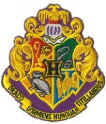 Harry Potter Genuine Hogwarts School patch