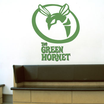 7585630daf8 Green hornet inspired giant wall art sticker! - Resin props and rare ...